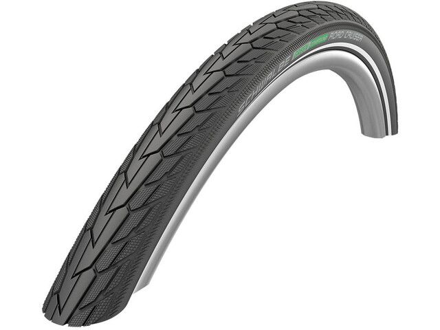 "SCHWALBE Road Cruiser Wired-on Tire 26"" K-Guard Active Reflex black"